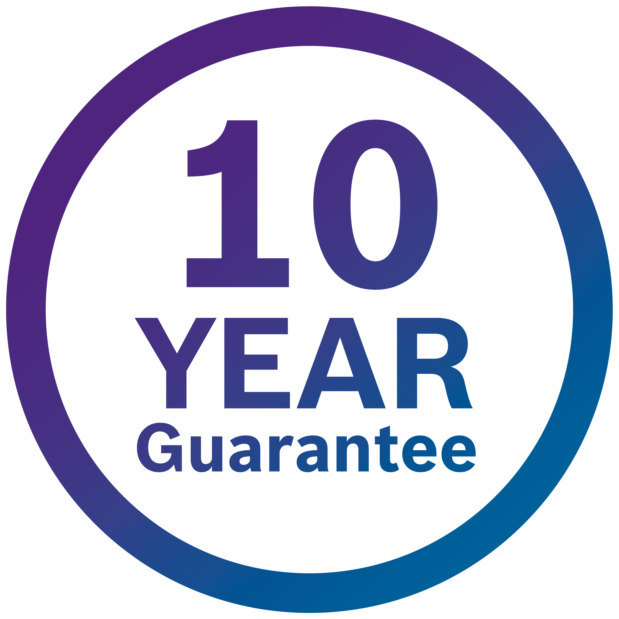 Worcester Bosch 10 Year Guarantee