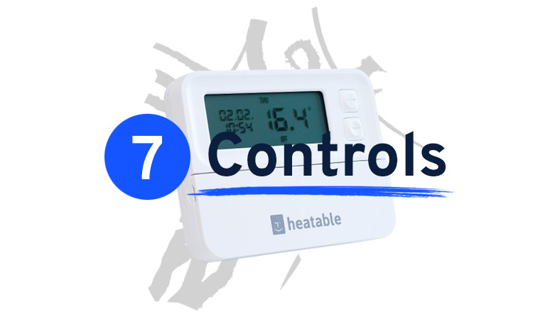 Heating controls cost