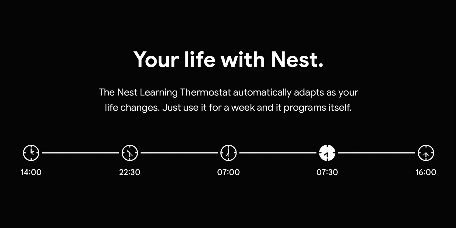 Nest Auto Learning Thermostats